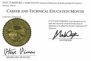 Governor Dayton  Signature